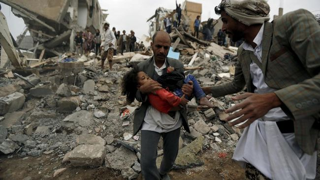 Soal Warga Sipil Yaman, Koalisi Saudi Sebut PBB Bias