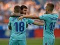 Dua Gol Messi Antar Barcelona Menang di Markas Alaves