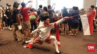 Tampil Nyentrik demi Islam dan Indonesia di SEA Games 2017