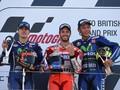 Valentino Rossi Puas Finis di Posisi Ketiga GP Inggris