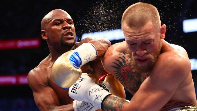 Minta Rematch, McGregor Dianggap Mayweather Badut Sirkus