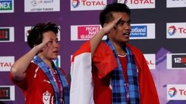 FOTO: Tontowi/Liliyana Sang Juara Dunia