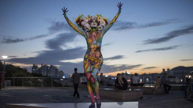 Tak Seperti di Istana, 'Aksi' Bugil di Korea Atas Nama Seni