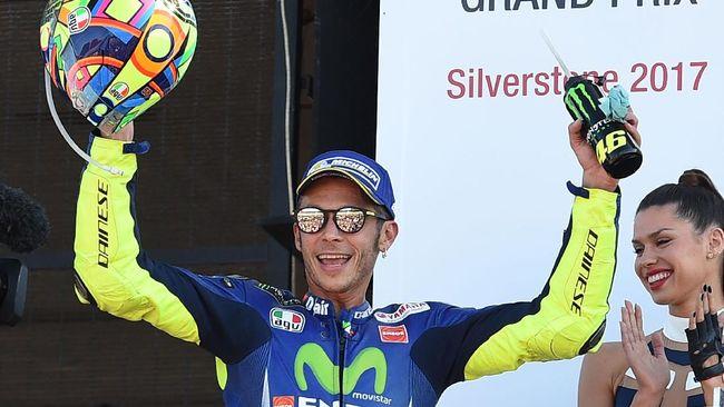 Valentino Rossi Menjadi Anutan Pebalap Senior F1