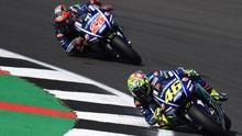 Rossi: Sirkuit MotoGP Inggris Cocok untuk Yamaha