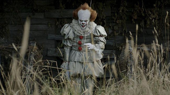 Pennywise 'IT' Bakal Kembali Teror Penonton September 2019
