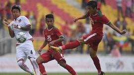 Dua Gelandang Timnas Indonesia Cedera di Tsunami Cup 2017
