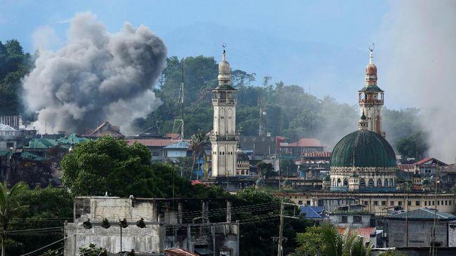 Hapilon dan Maute Pemimpin ISIS Marawi Dinyatakan Tewas