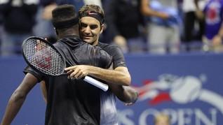 Federer Dibuat Deg-degan di Babak Pertama AS Terbuka