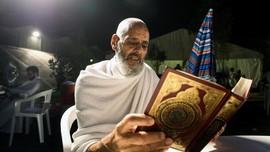 FOTO: Khusyuk Ibadah Haji di Tanah Suci