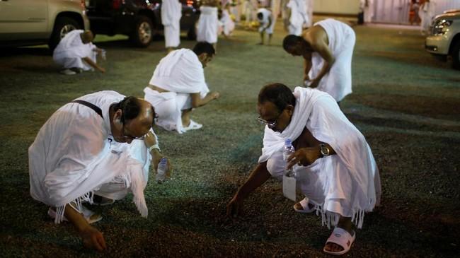 Arab Saudi melaporkan tidak ada masalahkesehatan atau keamanan berarti dalam penyelenggaraan ritual ini. (Reuters/Suhaib Salem)