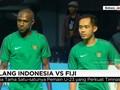 VIDEO: Ujian Luis Milla Saat Timnas Indonesia vs Fiji