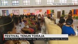 Pemkab Tana Toraja Gelar Festival Tenun Toraja