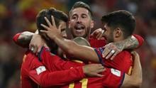 Sergio Ramos Sambut Dominasi Pemain Madrid di Timnas Spanyol