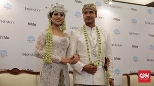 Deretan Gaun Pernikahan Raisa yang Cantik dan Elegan