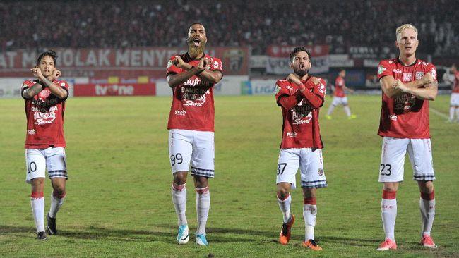 Pertahanan Kokoh Persija Diuji 'Kebuasan' Bali United