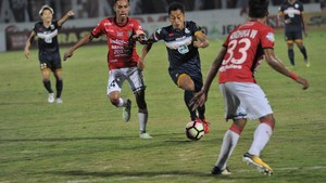 Gol Kapten Bali United Ungguli Martial dan Di Maria