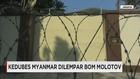 Penjagaan Kedubes Myanmar Diperketat Usai Pelemparan Molotov
