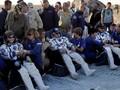 FOTO: Momen Haru Tiga Astronaut 'Mudik' ke Bumi
