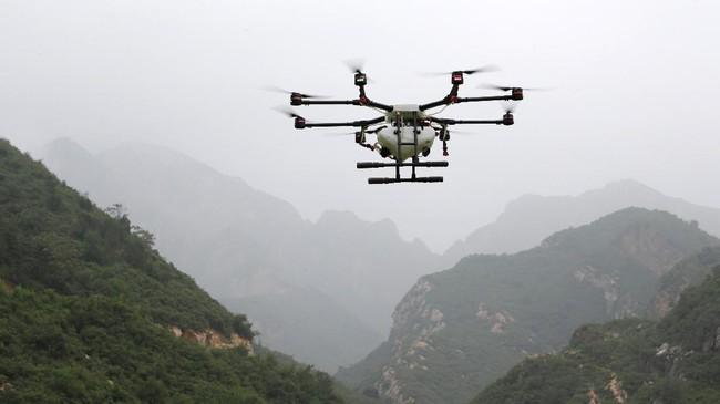 <p>Meski didera pro dan kontra, bisnis drone di China mengalami pertumbuhan pesathingga 68 persen dalam lima tahun terakhir dengan pengapalan hingga 3 juta unit di 2019. (REUTERS/Jason Lee)</p>
