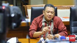 Airlangga Resmi Umumkan Bamsoet Sebagai Ketua DPR
