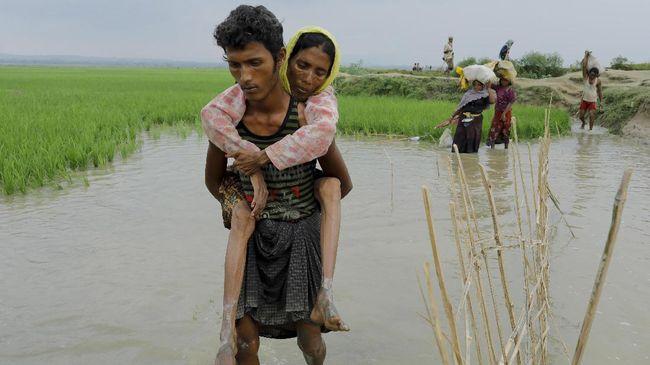Kapal Pengangkut Pengungsi Rohingya Tenggelam, 16 Orang Tewas