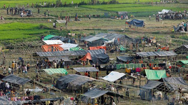 Dua Orang di Kamp Pengungsi Rohingya Tewas Terinjak Gajah