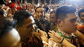 FOTO: Jokowi Disambut bak Pahlawan di Singapura