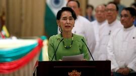 Ke Australia, Suu Kyi Disambut Masalah Rohingya