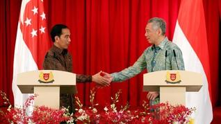 Jokowi Harap RI-Singapura Perbanyak Kerja Sama Bangun KEK