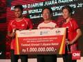Jadi Juara Dunia, Tontowi/Liliyana Diguyur Bonus Rp1 Miliar