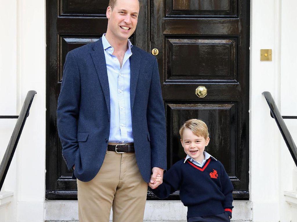Foto: Cute Alert! 10 Ekspresi Wajah Pangeran George yang Menggemaskan