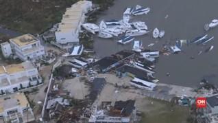 VIDEO: Badai Irma Hancurkan 95 Persen Pulau Saint Martin