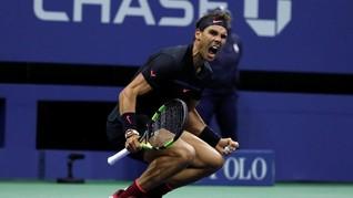 Rafael Nadal Melaju ke Final AS Terbuka