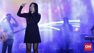 Via Vallen Minta Maaf 'Lip Sync' di Pembukaan Asian Games