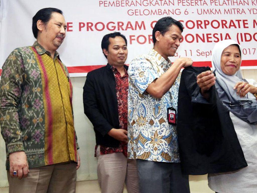 Program ini merupakan kerjasama YDBA, Association for Overseas Technical Cooperation and Sustainable Partnerships (AOTS) dan Himpunan Alumni AOTS Indonesia (HAAI). (dok. YDBA)