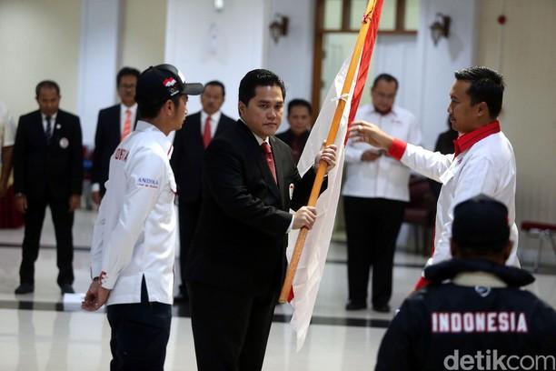 Menpora Lepas Kontingen Merah Putih ke AIMAG 2017