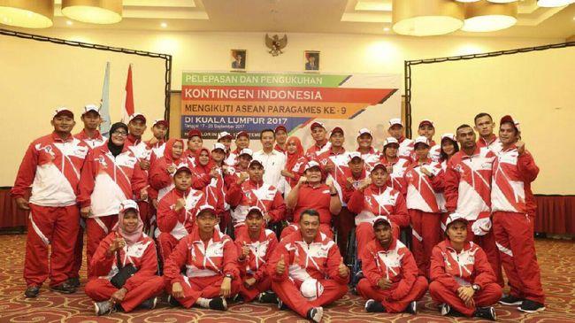 Tim Renang Antar Indonesia Gusur Malaysia di ASEAN Paragames