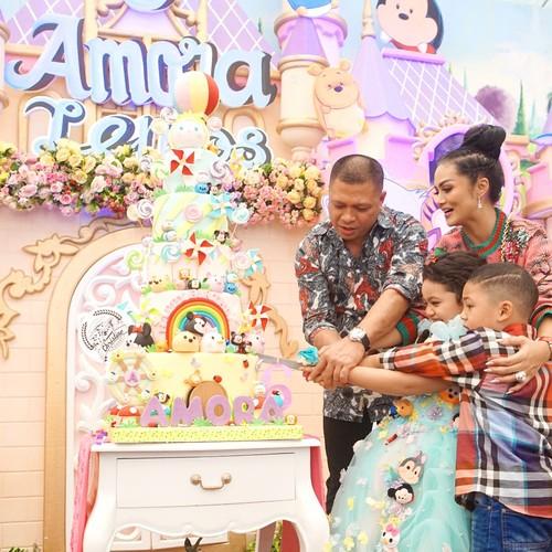 Intip Potret Meriah dan Mewah Pesta Ulang Tahun 5 Anak Artis Indonesia