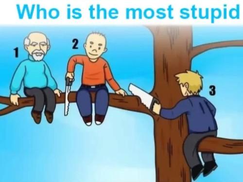 Pria Mana yang Paling Bodoh di Gambar Ini? Jawabannya Bisa Ungkap Sifat Kamu