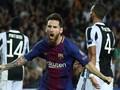 Messi Dua Gol, Barcelona Bungkam Juventus 3-0