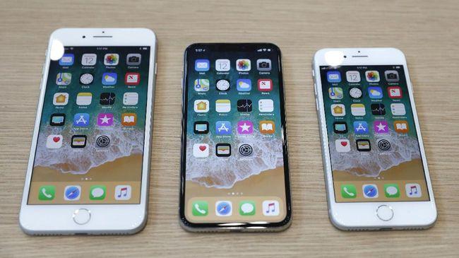 Perbedaan iPhone 8, 8 Plus, dan iPhone X