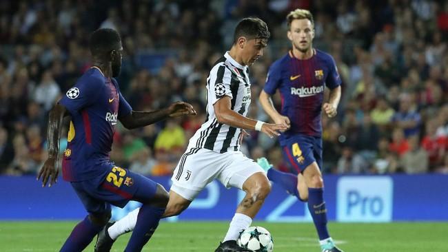 Satu gol Barcelona lainnya ke gawang Juventus dicetak oleh gelandang asal Kroasia Ivan Rakitic pada menit ke-56. (REUTERS/Susana Vera)
