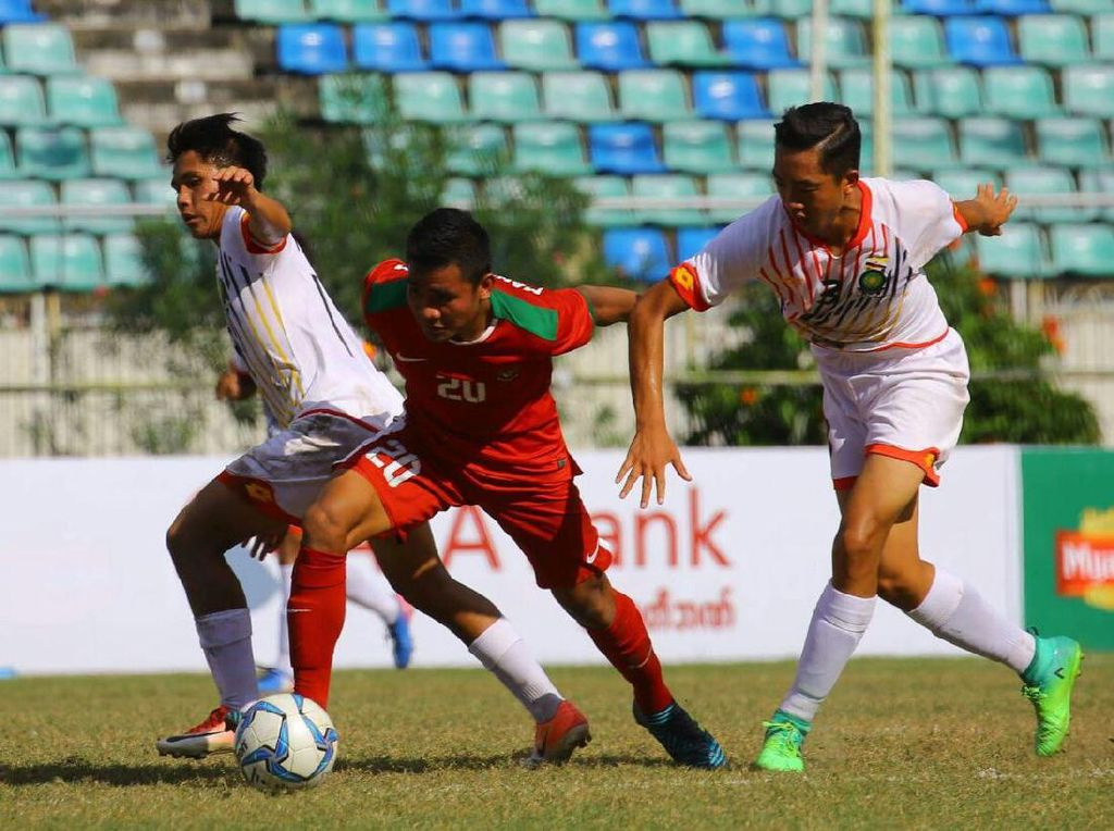 Di babak kedua, Indonesia mencetak dua gol tambahan melalui Witan dan Hanis Saghara. Foto: dok.Humas PSSI