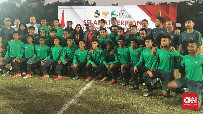 Timnas U-16 Diminta Serap Semangat Kopassus