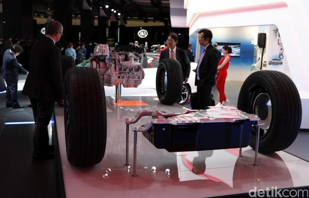 Honda CR-V Hybrid Mulai Beredar di Pasaran Tahun Depan