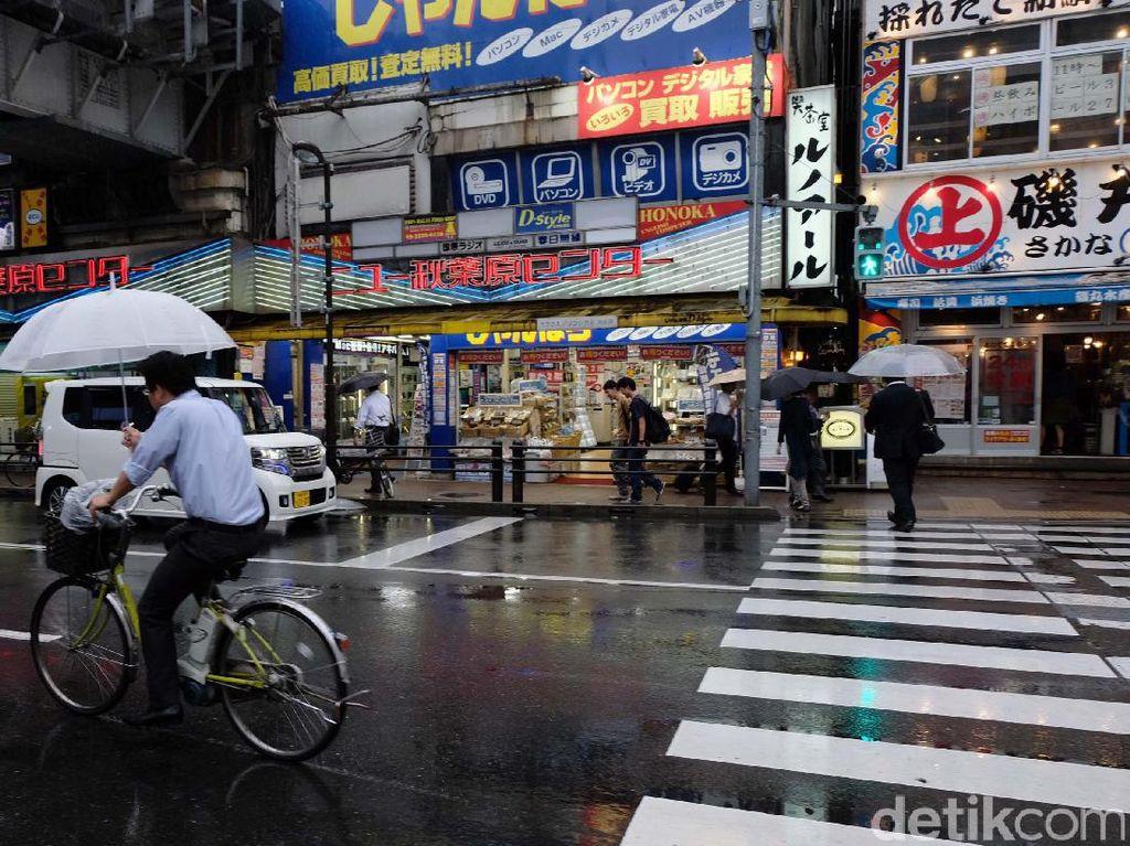 Bahkan ada dibeberapa toko pusat perbelanjaan di Akihabara itu memiliki taman sebagai meeting point untuk para pengunjungnya.