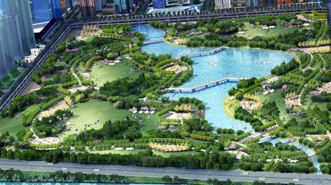 Tak Perlu Jauh ke New York, 'Central Park' Ada di Meikarta