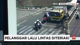 VIDEO: Teriakan Petugas dan Sipu Malu Pelanggar Lalu Lintas