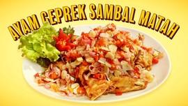Resep Ayam Geprek Sambal Matah Super Lezat